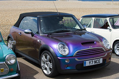 Road Cars - London to Brighton 2008 - BMW MINI Cooper S Convertable - Purple - 080518 - Steven Gray - IMG_5882