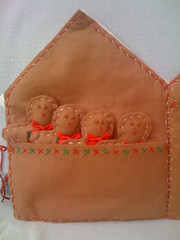 Gingerbread Card Holder (Inside Left).