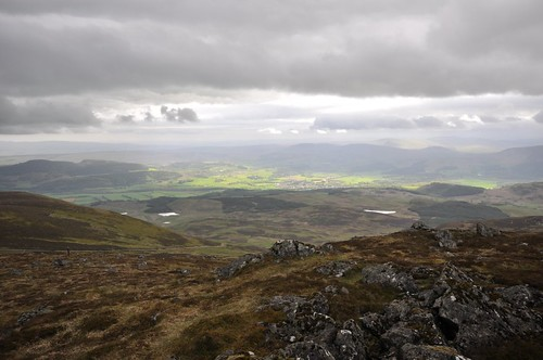 Comrie from Carn Chois