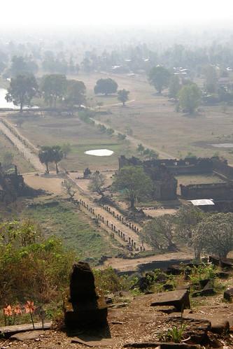 053.從主殿俯瞰Champasak平原 (4)