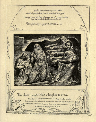 009-El libro de Job-William Blake 1825