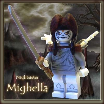 Nightsister Mighella custom minifig