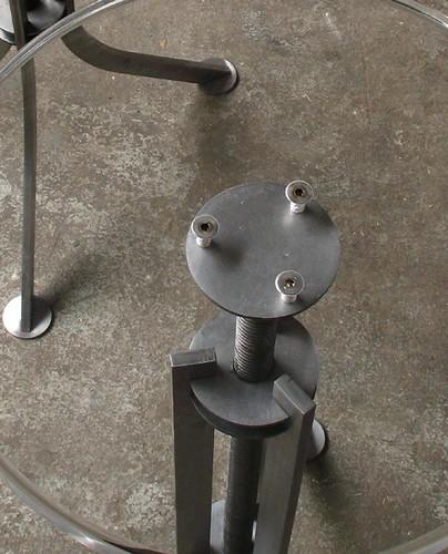 newyork metal brooklyn acrylic furniture steel stool cnc barstool fabrication lasercut caliper custombarstool caliperstudio customstool adjustablebarstool
