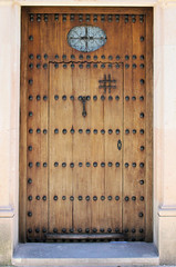 Ronda Door V (cwgoodroe) Tags: summer costa white hot sol beach del bells spain ancient europe churches sunny bull bullfighter adobe ronda moors walls washed clothesline protective newbridge roda bullring stonebridge oldbridge spainish whitehilltown rondah spanishdoors