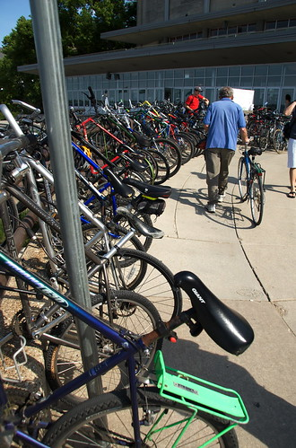 Bikes at the Terrace