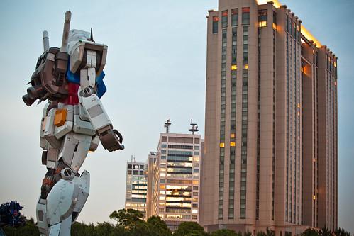 Gundam tamaño real Tokio 2