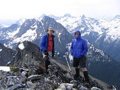 Tom and his Dad on the summit