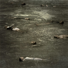 regurgitate (brookeshaden) Tags: ocean sea people selfportrait water matt painting death olivia kate spencer dying regurgitate bigspace brookeshaden texturebylesbrumes