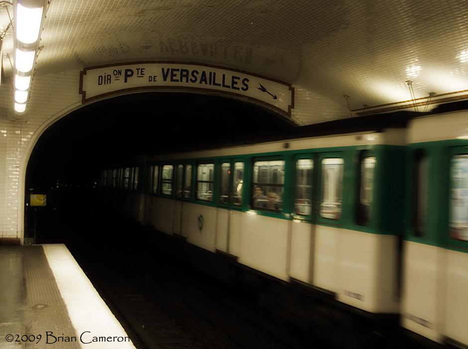 Direction ... Porte de Versailles