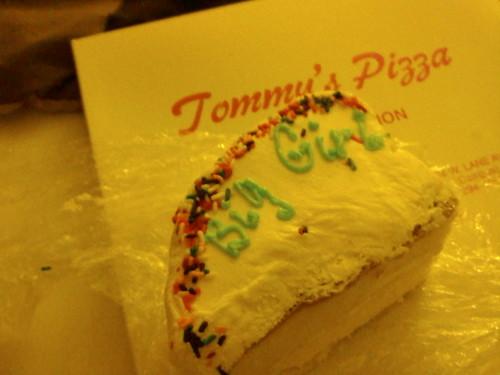 big girl cake