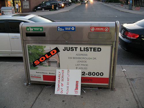 2009 Toronto Municipal Strike (3) - Sold?