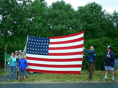 Old Glory at Le Tour