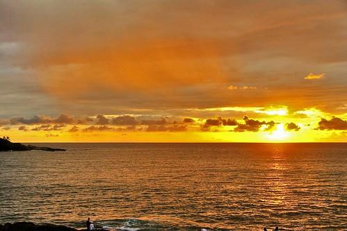 Sunset at Beruwala