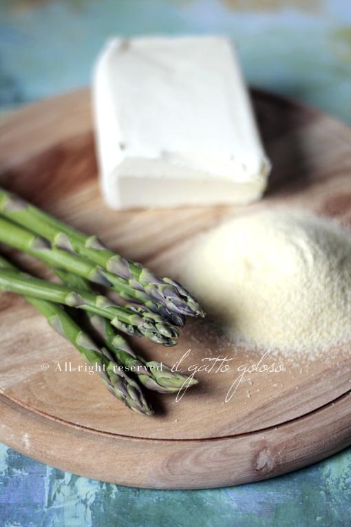 gnocchi di semolino agli asparagi