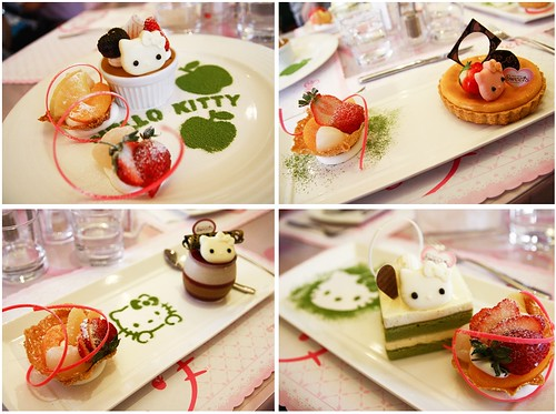Hello kitty sweets cafe, Taipei 2