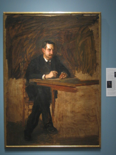 Portrait of Professor William D. Marks, Thomas Cowperthwait Eakins _ 1916
