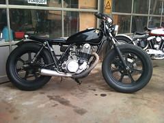 SR (Anders Hansen) Tags: copenhagen denmark ericsson sony motorcycle yamaha customized danmark motorsykkel amager x10 sr500 wrenchmonkees