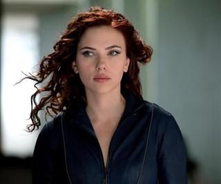 Scarlett Johanson is the Black Widow