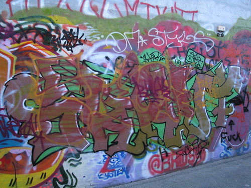 The legal graffiti wall Sandnes