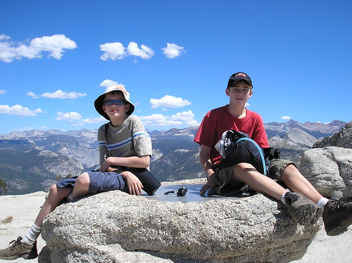 Boys on Sentinel Dome