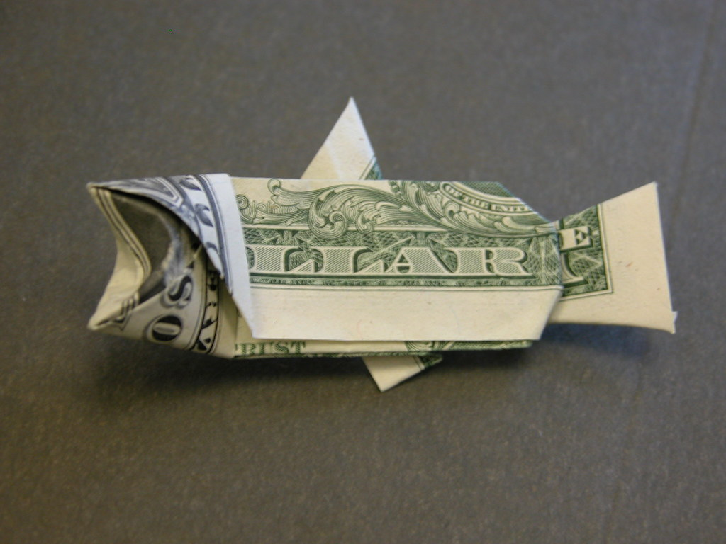 Origami fish from dollar bill image collections craft decoration dollar bill origami sea turtle instructions gallery craft dollar bill origami sea turtle instructions images craft jeuxipadfo Choice Image