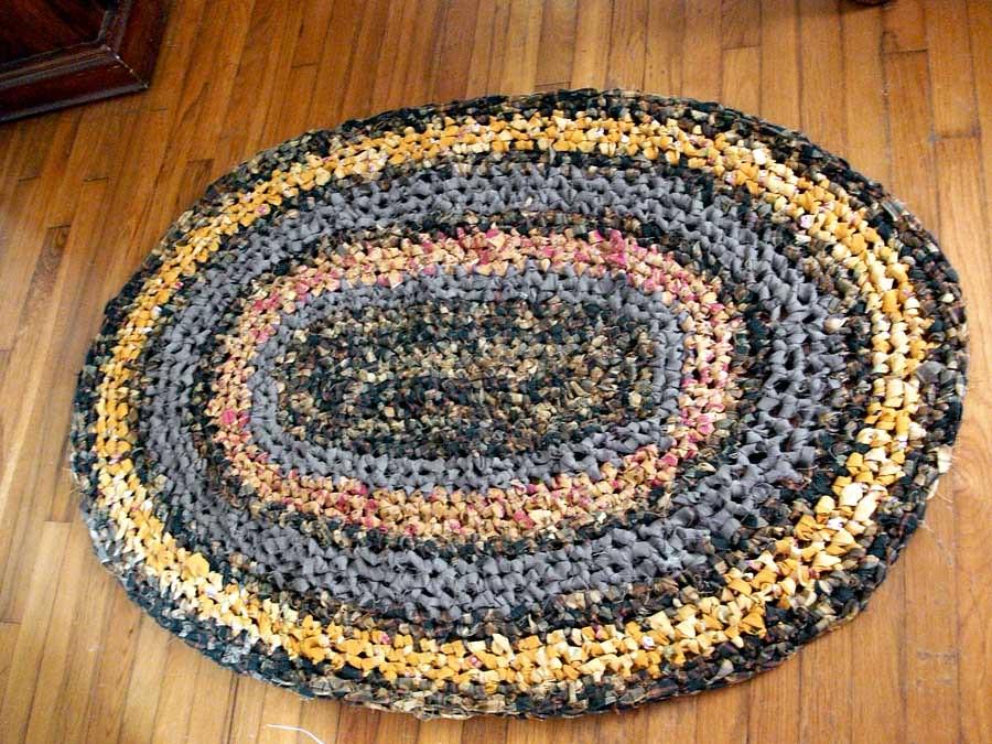 Crochet Rag Rugs Instructions Crochet Rag 9 Foot Round