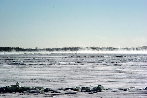 Ice Fog on the St-Laurent