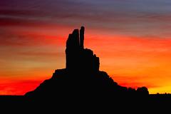 Marlboro sunrise (hapulcu) Tags: arizona usa sunrise navajo monumentvalley platinumphoto