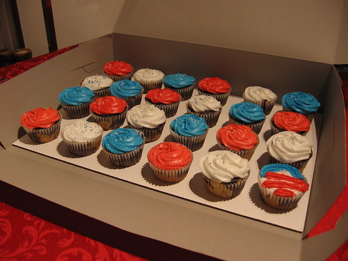Inauguration Cupcakes