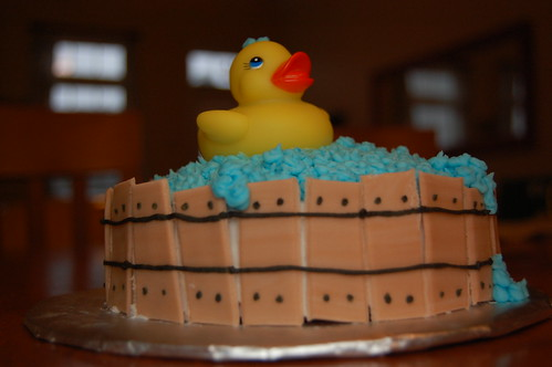 Rubber Ducky Cake 2