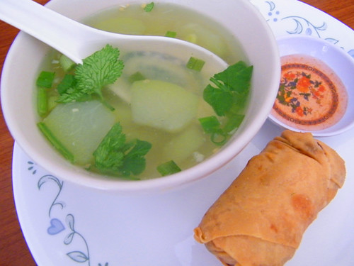 Egg Roll & Soup at Sri Siam, MyLastBite.com