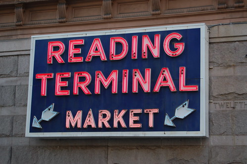 Reading Terminal Market Sign