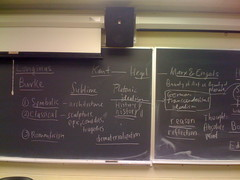 My English 383 blackboard work
