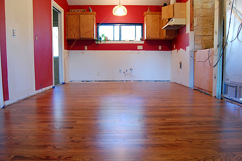 new wood floors