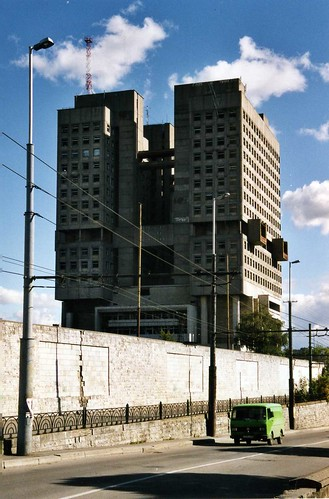 Калининград - The House of the Soviets, Kaliningrad 2003 ©  sludgegulper