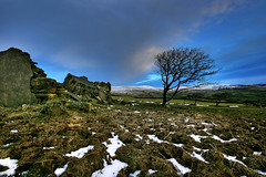 Winter bleakness! (Suddhajit) Tags: uk morning winter landscape bleakness isleofman sigma1020mm snaefell cregnybaa canoneos400d anawesomeshot suddhajit