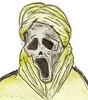 the skull (a3fene_q8) Tags: anime art skull cartoon manga arab toon dawing محسن شبح خوف رعب مخيف جمجمه مسكون اشباح البغلي