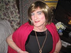 IMG_0551 (Julie Bracken) Tags: old red portrait fashion hair tv cd mini skirt crossdressing tgirl transgender mature tranny transvestite crossdresser crossdress kinky tg trannie mtf m2f feminized enfemme xdresser tgurl feminised transsister julieb85
