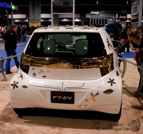 Toyota FT-EV Concept Car,car, sport car