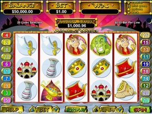 Aladdin's Wishes slot game online review