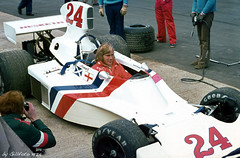 James Hunt in Hesketh March 308 (Gillfoto) Tags: jameshunt heskethmarch308 march hesketh f1 formulaone rush 24 goodyear saltire stgeorge shunt saintgeorge raceofchampions hunttheshunt 1974