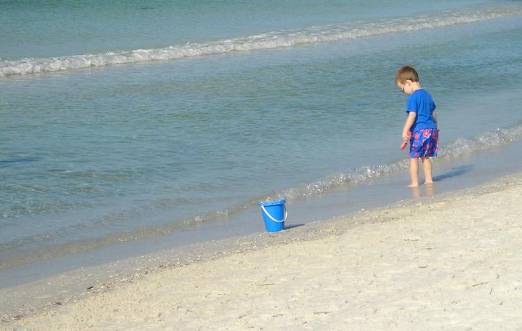 Beach Child 1