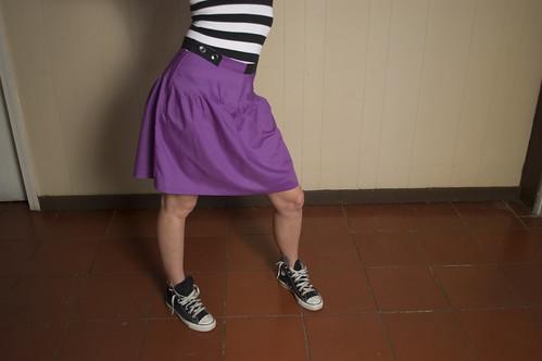 falda: uva