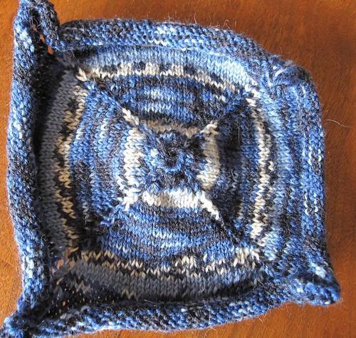 combined yarn square