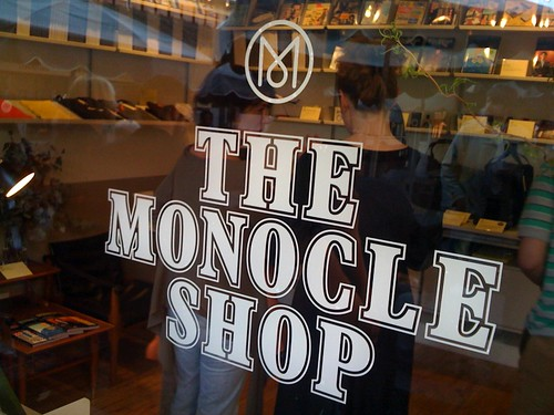 Monocle LA Shop opening