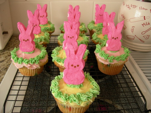 easter bunny cupcakes pictures. Easter Bunny Cupcakes