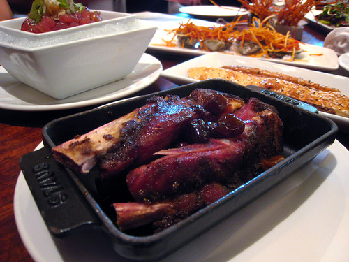 Garam Masala Rubbed Ribs with Muscat Grape Gastric