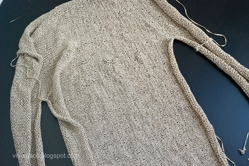 Half a bamboo sweater