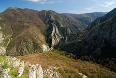 Grand Matka (Blagoja Jankoski) Tags: travel mountain lake tourism river landscape view dam canyon macedonia matka skopje treska hikingtrekking