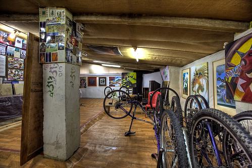 Bikes at VAST